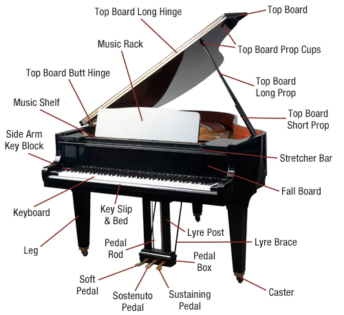 Piano Diagram